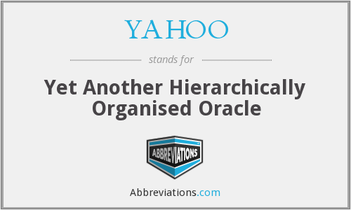 YAHOO - Yet Another Hierarchically Organised Oracle