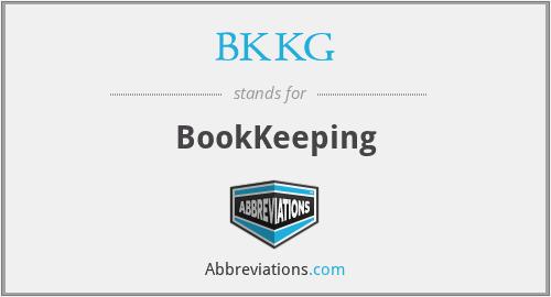 BKKG - BookKeeping