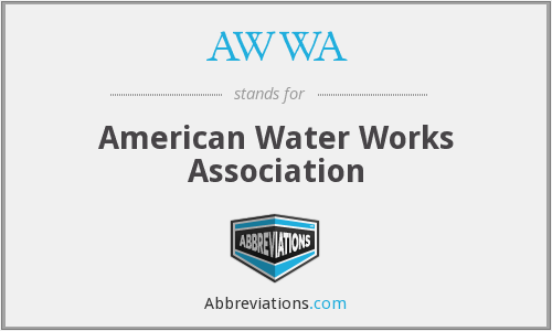 AWWA - American Water Works Association