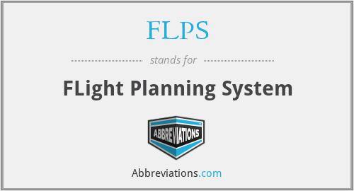 FLPS - FLight Planning System