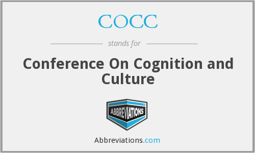 COCC - Conference On Cognition and Culture