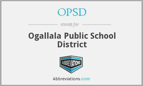 OPSD - Ogallala Public School District