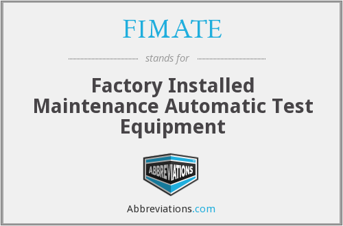 What does FIMATE stand for?