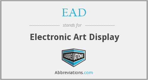 EAD - Electronic Art Display