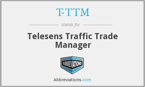 T-TTM - Telesens Traffic Trade Manager