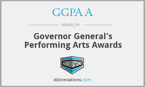 What does GGPAA stand for?