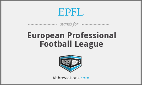 EPFL - European Professional Football League
