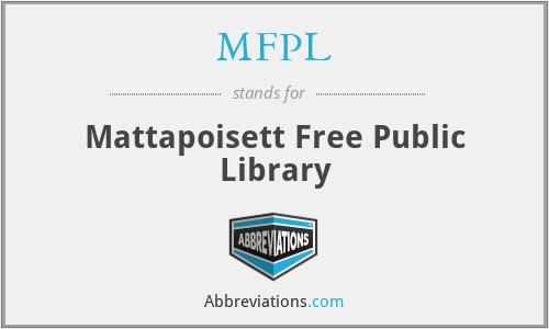 MFPL - Mattapoisett Free Public Library