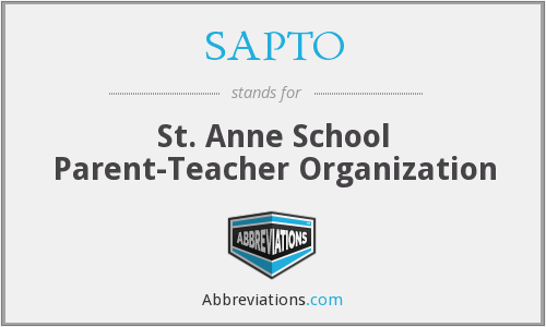 What does SAPTO stand for?