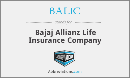 What does BALIC stand for?