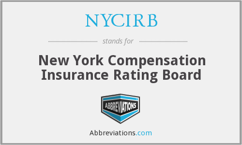 NYCIRB - New York Compensation Insurance Rating Board