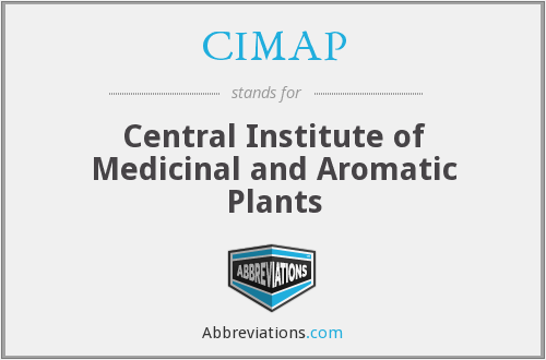 CIMAP - Central Institute of Medicinal and Aromatic Plants