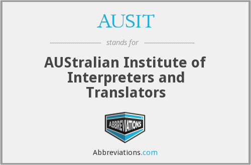 What does AUSIT stand for?