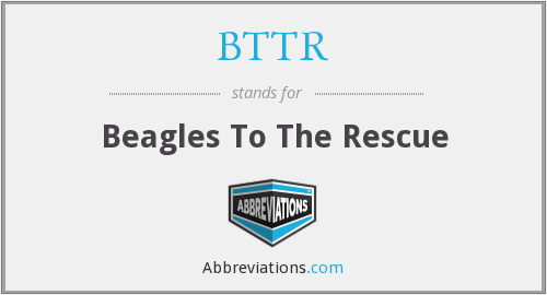 BTTR - Beagles To The Rescue