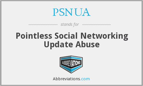 What does PSNUA stand for?