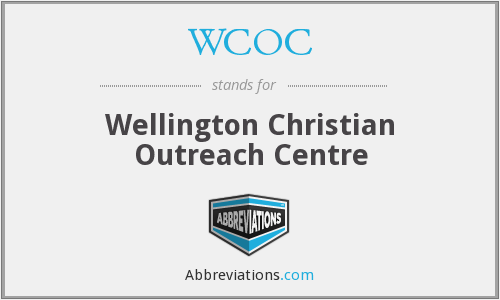 WCOC - Wellington Christian Outreach Centre