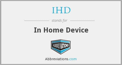 IHD - In Home Device