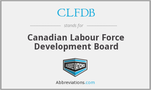 What does CLFDB stand for?