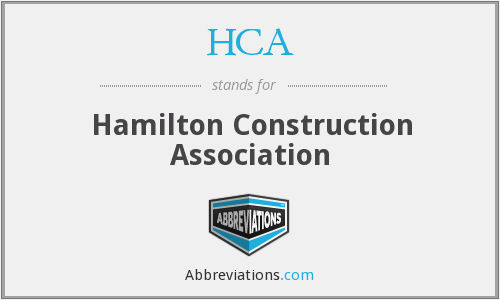 HCA - Hamilton Construction Association