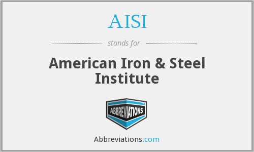 AISI - American Iron & Steel Institute