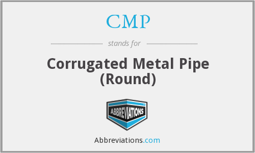 CMP - Corrugated Metal Pipe (Round)