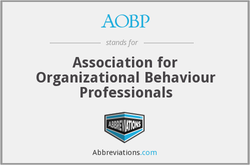 What does AOBP stand for?