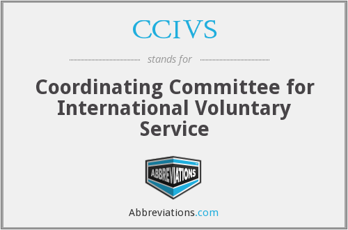 CCIVS - Coordinating Committee for International Voluntary Service