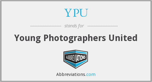 YPU - Young Photographers United