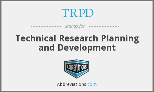 What does TRPD stand for?