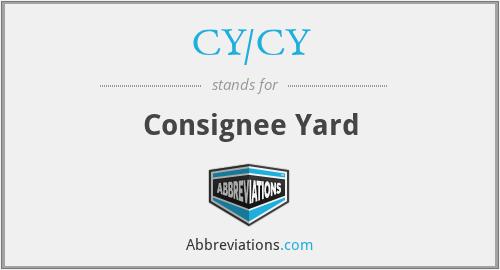 CY/CY - Consignee Yard