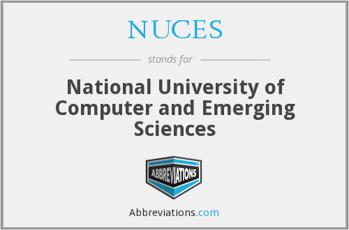 What does NUCES stand for?