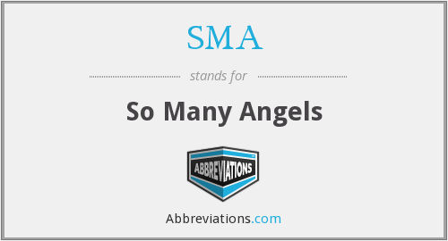 SMA - So Many Angels