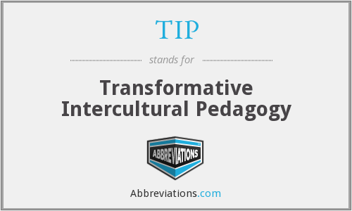 TIP - Transformative Intercultural Pedagogy