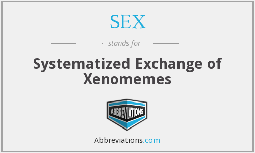 SEX - Systematized Exchange of Xenomemes