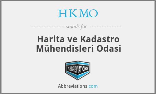 HKMO - Harita ve Kadastro Mühendisleri Odasi