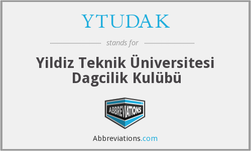 What does YTUDAK stand for?
