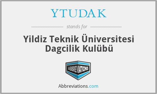 YTUDAK - Yildiz Teknik Üniversitesi Dagcilik Kulübü