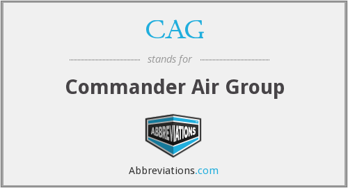 CAG - Commander Air Group