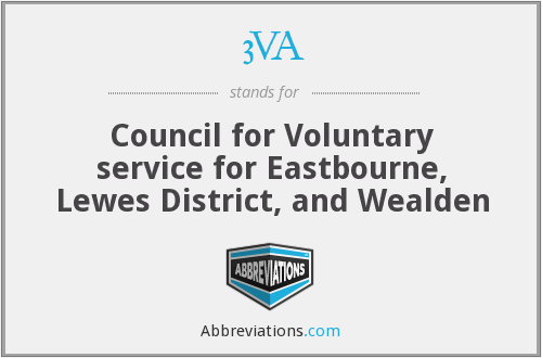 3VA - Council for Voluntary service for Eastbourne, Lewes District, and Wealden