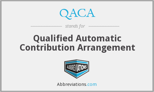 What does QACA stand for?