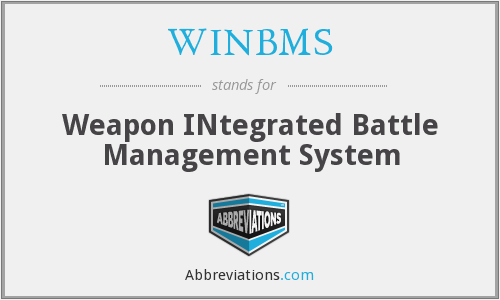 What does WINBMS stand for?