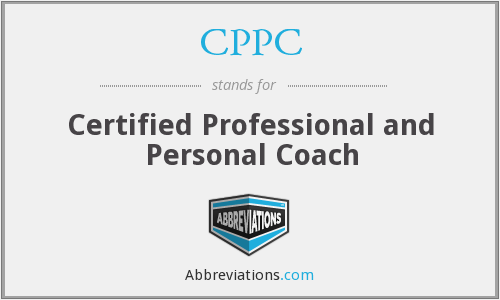 CPPC - Certified Professional and Personal Coach