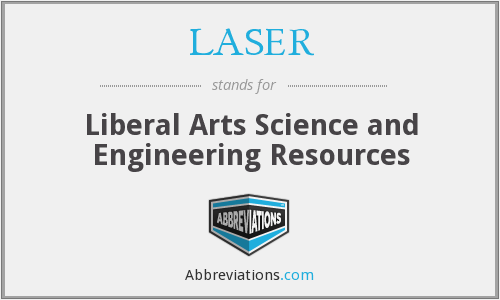 LASER - Liberal Arts Science and Engineering Resources