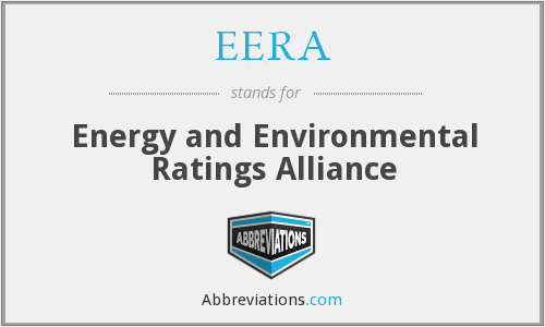 EERA - Energy and Environmental Ratings Alliance