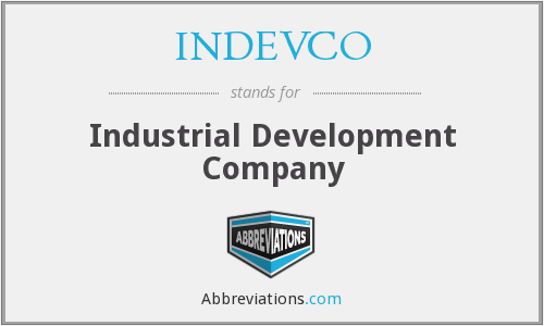 INDEVCO - Industrial Development Company
