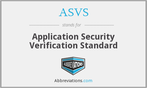 ASVS - Application Security Verification Standard