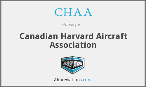 CHAA - Canadian Harvard Aircraft Association