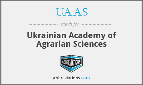 UAAS - Ukrainian Academy of Agrarian Sciences