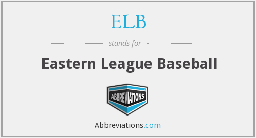 ELB - Eastern League Baseball