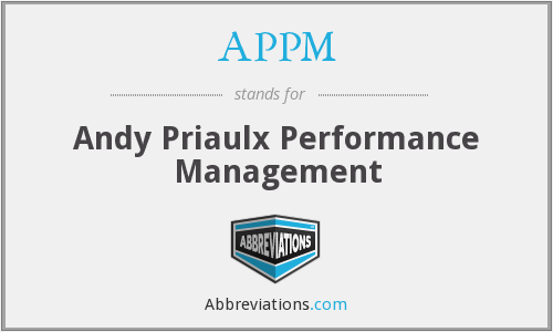 APPM - Andy Priaulx Performance Management
